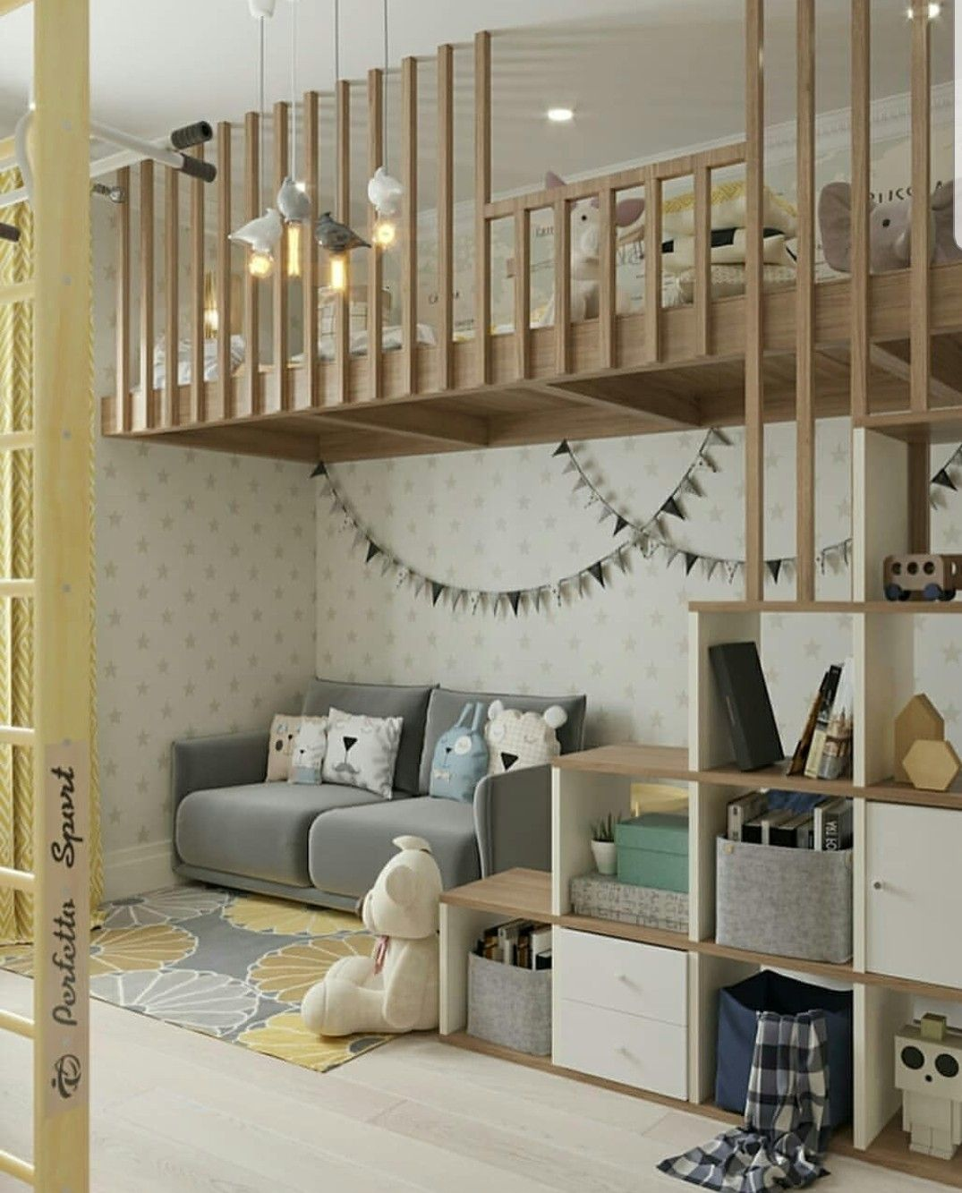 lovely and simple kids bedroom design. #kidsbedroom #functional #bedroomdesign #homedesign #bedroomideas #kidsbedroomsandthings