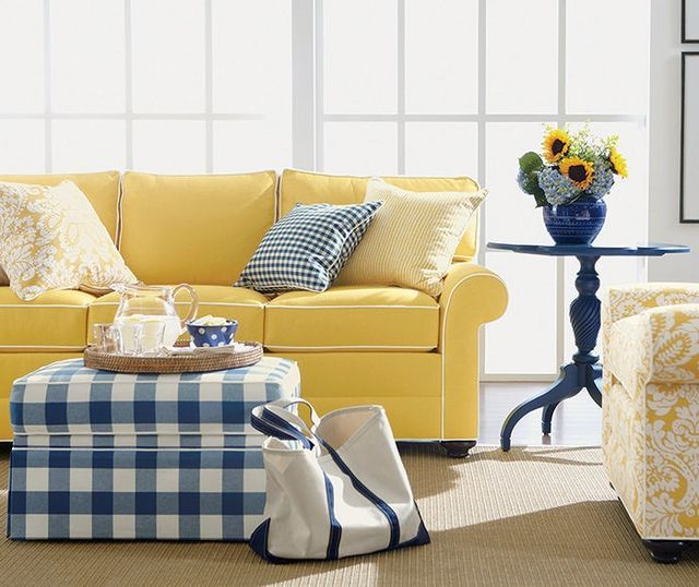 Gingham Sofa Slipcovers Innovative Textile Solutions
