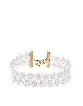 ASOS Vintage Style Lace Choker Necklace