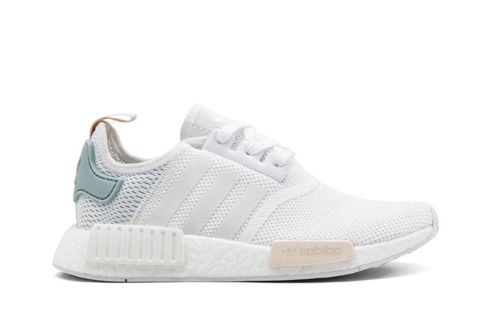 Adidas Nmd R1 Womens 8.5 White Teal Sand By3033  fashion  clothing  shoes   accessories  womensshoes  athleticshoes (ebay link) c3b513c93