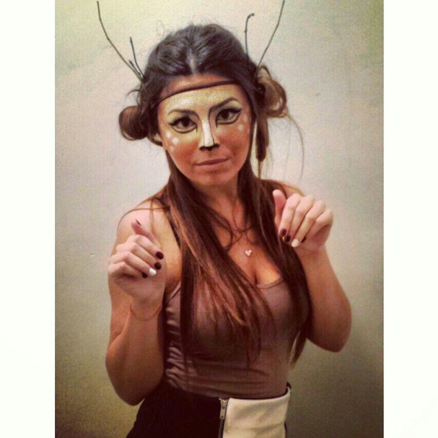 Deer Halloween costume | halloween | Pinterest | Deer halloween ...