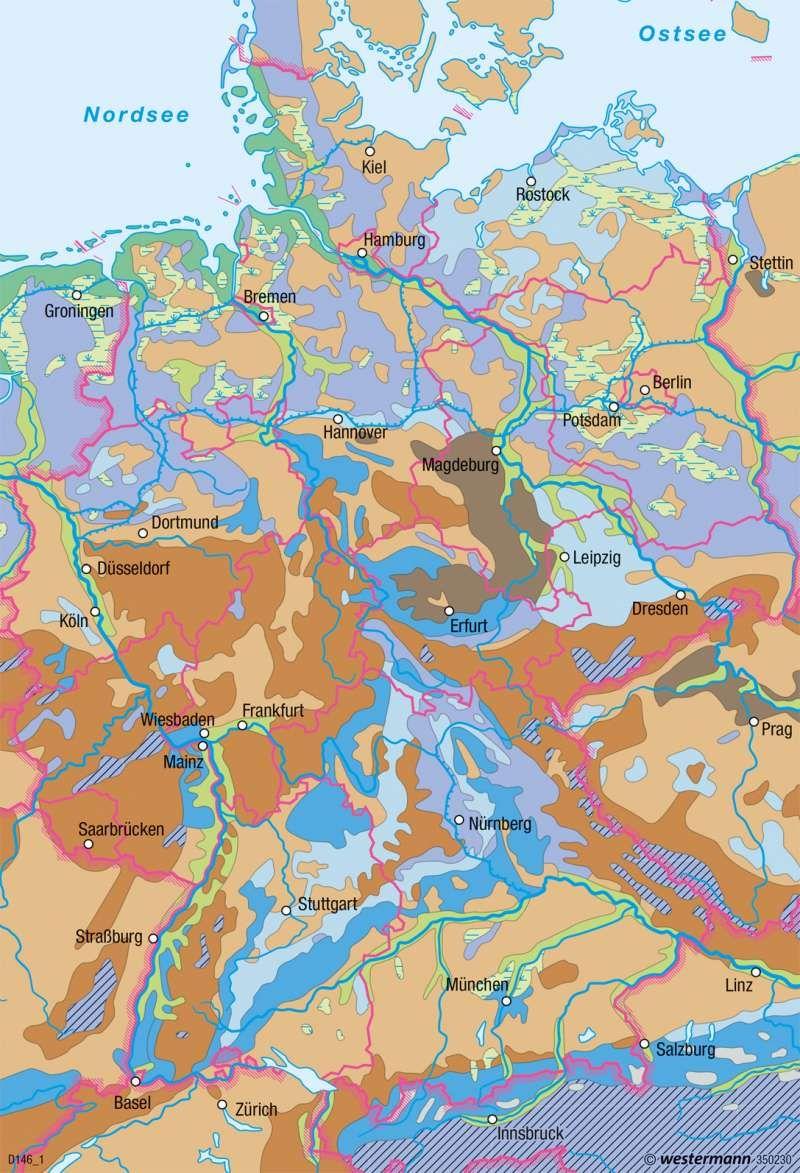 Deutschland b den deutschland landwirtschaft karte for Boden deutschland