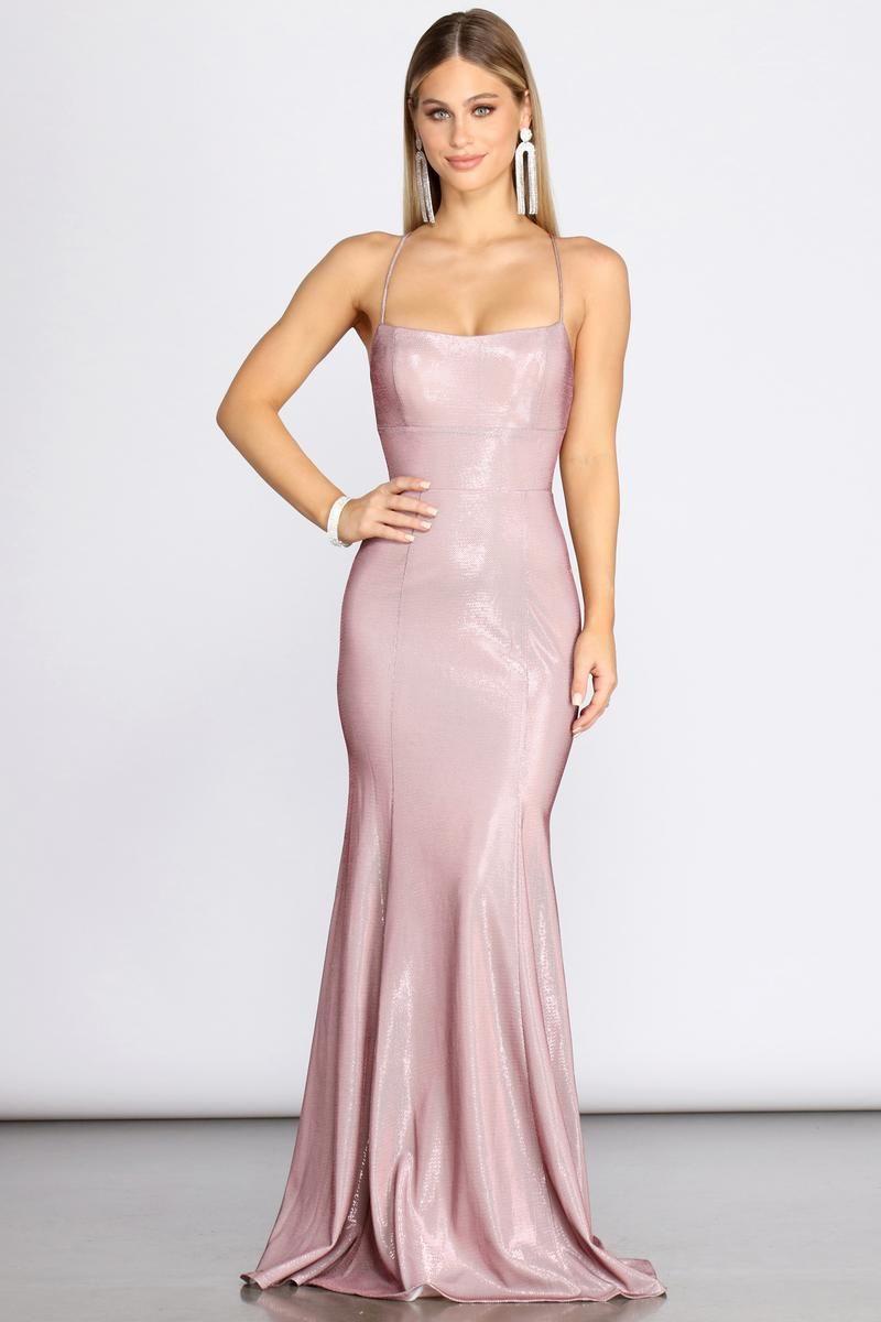 Tanna Formal Lattice Glitter Dress Prom Dress Trends Glitter Dress Pink Long Dress [ 1200 x 800 Pixel ]