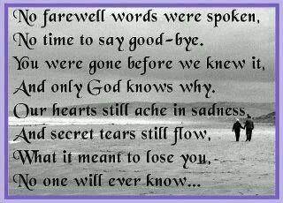 No Farewell Words Ordsprog Og Citater Livscitater Tekster