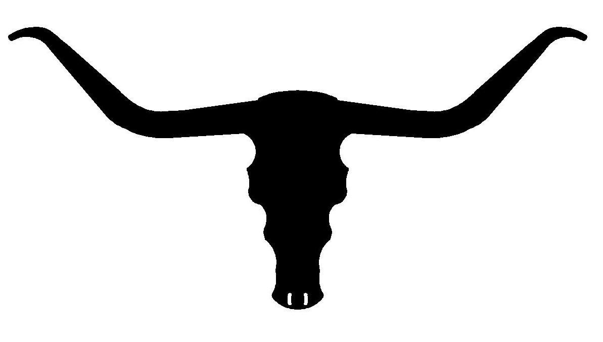 longhorn steer tattoo ideas pinterest tattoo stenciling and rh pinterest com au longhorn clipart free longhorn silhouette clipart
