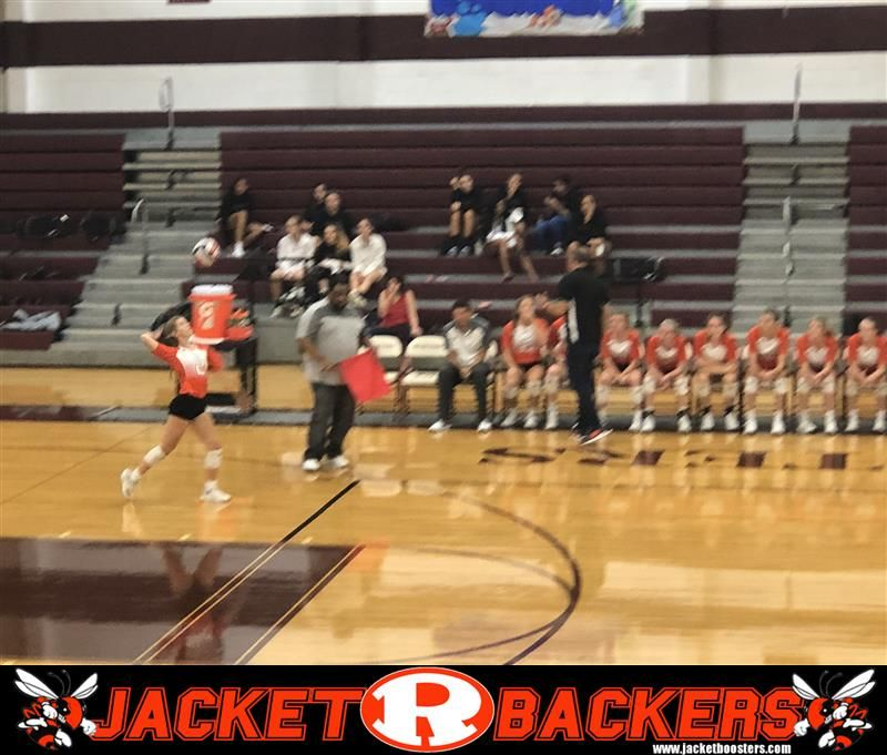 The Lady Jackets Varsity Volleyball Team Easily Defeats Mesquite High School In A District Matchup Rockwall Easily Beat Mes Volleyball Team Undefeated Varsity
