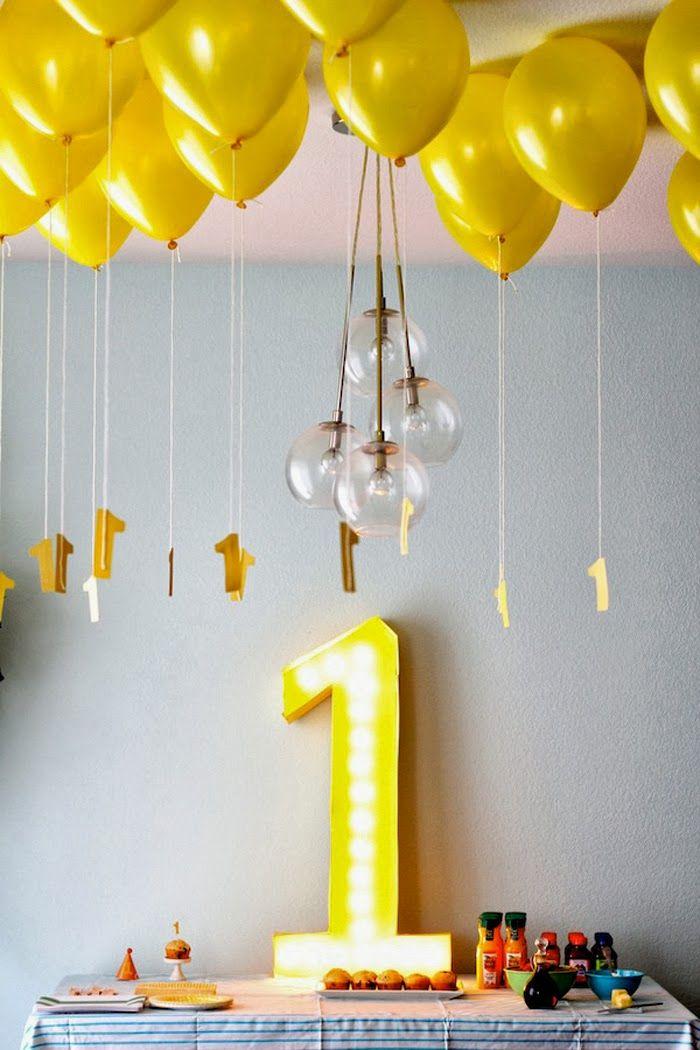 Einfache Deko Idee Kindergeburtstag Pinterest Geburtstag