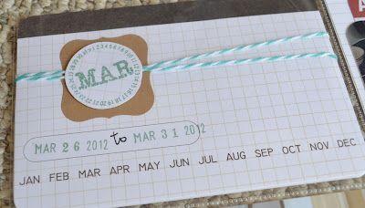 Martha Stewart kraft labels + baker's twine