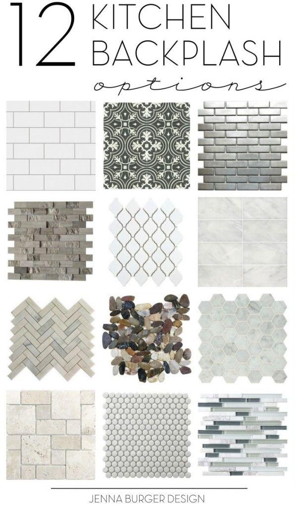 Kitchen Tile Backsplash Options + Inspirational Ideas