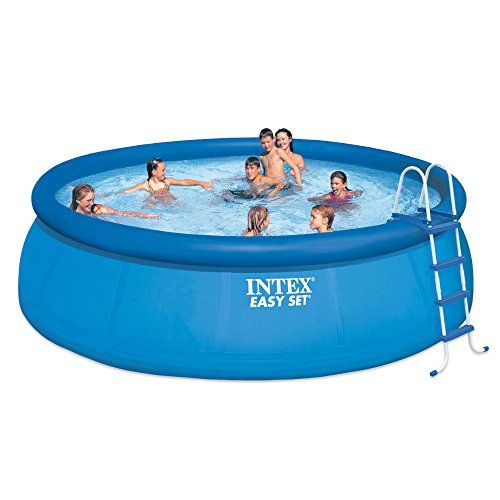 Ultimate Guide For Above Ground Pools Learn What Type To Buy How To Mount It How To Treat The Water And How To Maint Easy Set Pools Swimming Pool Kits Intex