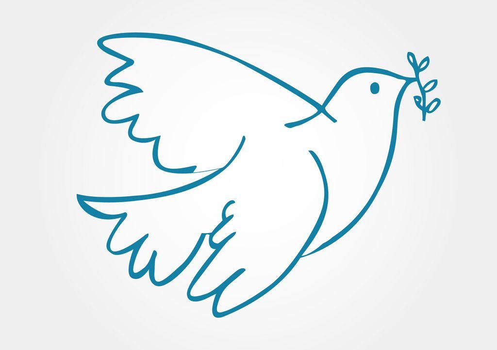 鳩はなぜ平和の象徴とされているのか? | 平和のシンボル, 平和, イラスト