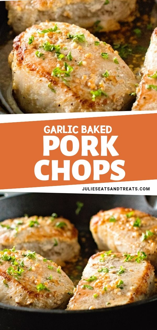 Photo of GARLIC BAKED PORK CHOPS