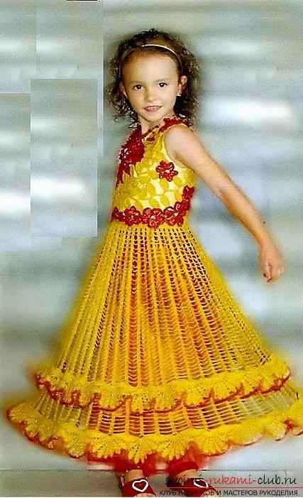 Платье своими руками девочки крючок фото 395