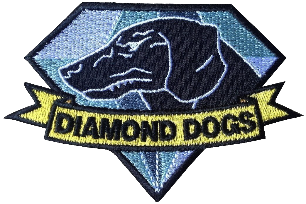 Diamond Dogs Fox Hound Metal Gear Solid Big Boss Snake Patch Metal Gear Solid Metal Gear Diamond Dogs