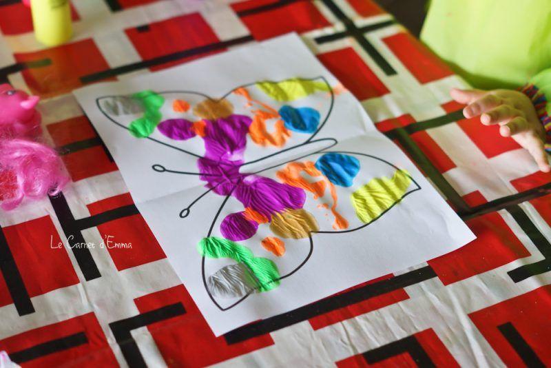 le printemps mon joli papillon maman pinterest activit manuelle enfant sym trie et. Black Bedroom Furniture Sets. Home Design Ideas