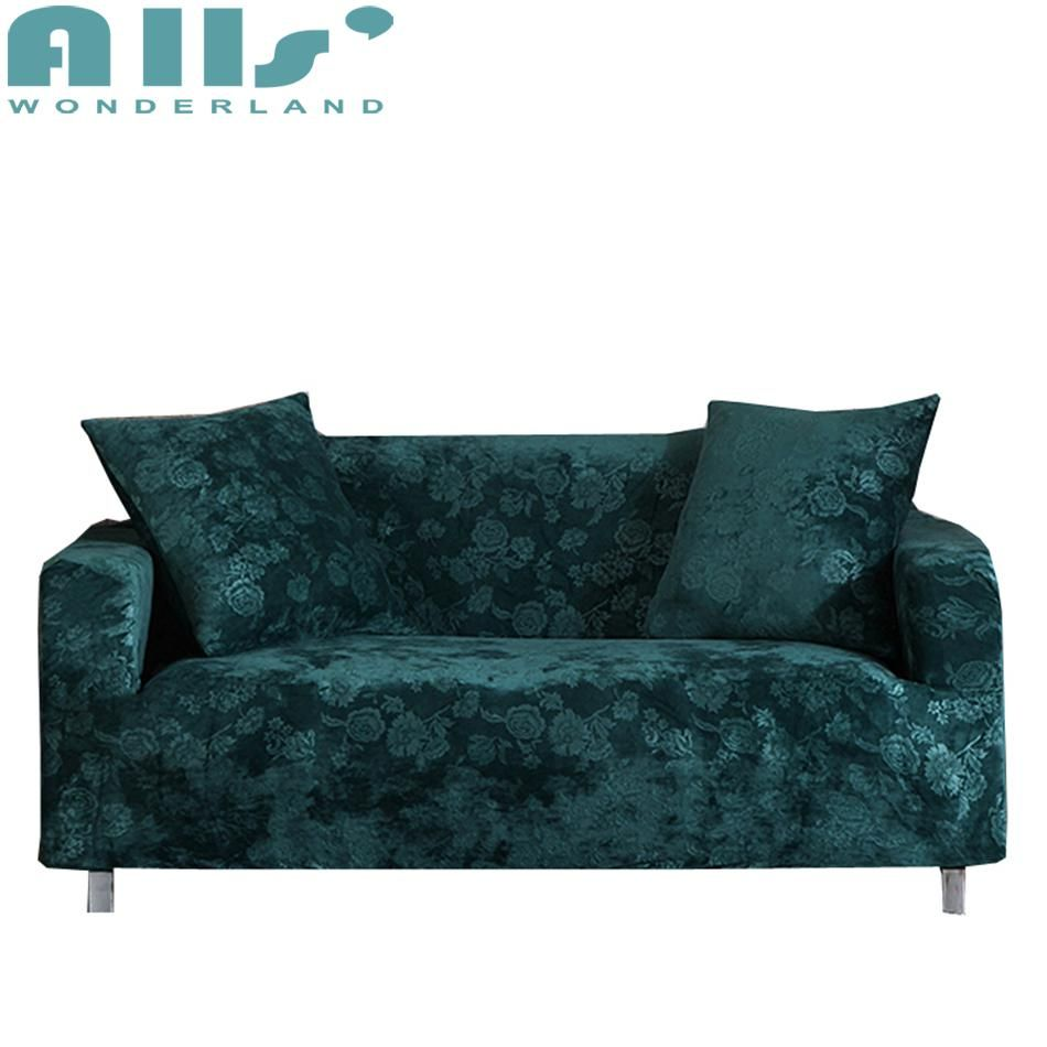 Multi Size Home Decoration Corner Sofa Covers 100 Polyester Couch
