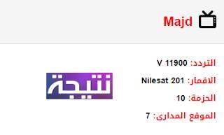 تردد قناة المجد Majd الجديد