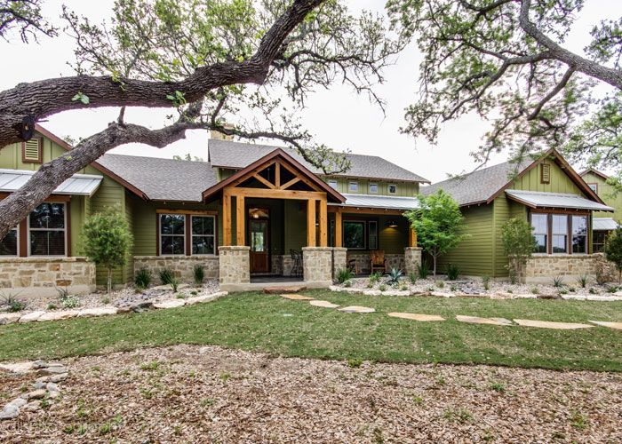 Custom home builder for the texas hill country pinteres for South texas house plans