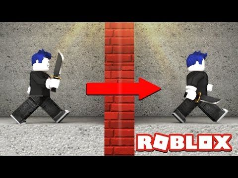 How To Glitch Through Walls In Roblox Youtube Roblox