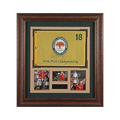Rory Mcilroy Signed 2012 Pga Flag Display Frontgate Flag Display Framed Flag Rory Mcilroy