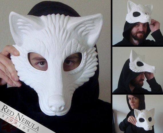 Resin wolf mask blank stylized wolf face mask wolf masquerade resin wolf mask blank stylized wolf face mask wolf masquerade mask resin half solutioingenieria Gallery