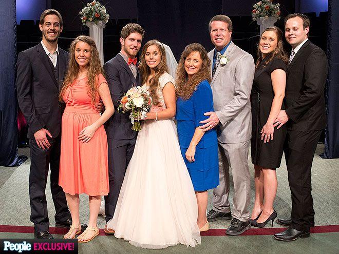 Jessa Duggar Wedding To Ben Seewald Photos Duggar Girls Duggar Wedding Duggars