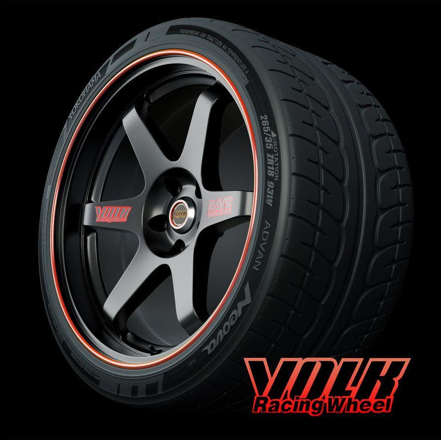 Volk Racing Te37 By Solanki47 On Deviantart Rims For Cars