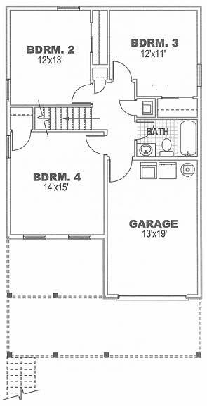 Coastal Home Plans - Outrigger Cottage