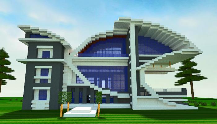Modern Furniture Minecraft modern villa minecraft world save | home decor | pinterest | villa