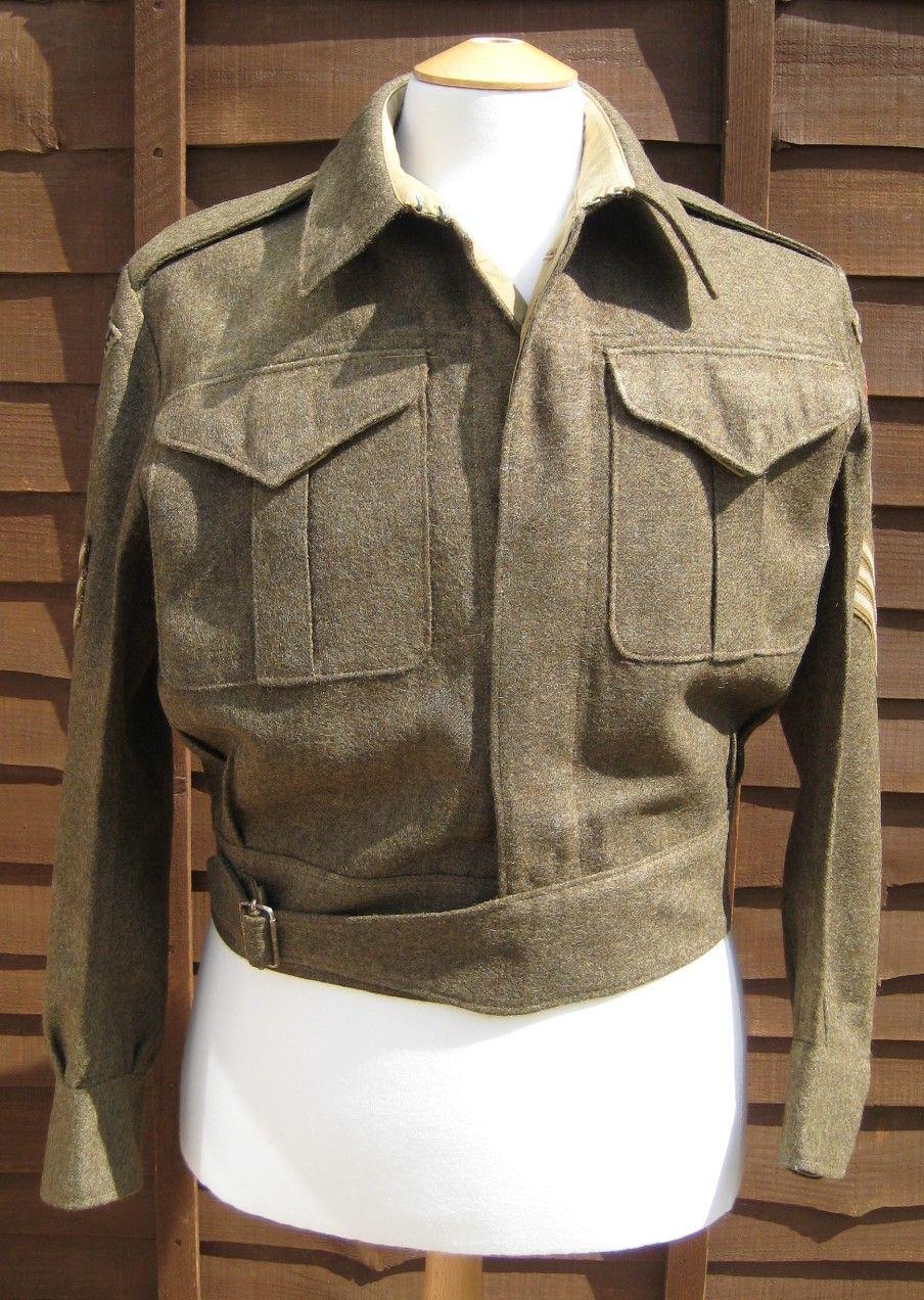 28/LXI Militaria UK – WW2 1937 Pattern Canadian Battle Dress