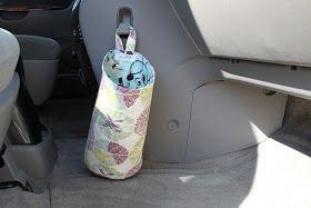 Handmade Frenzy: Car Trash Bag Tutorial