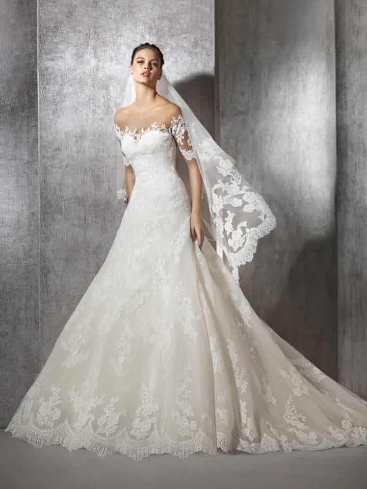 vestidos de noiva st. patrick 2017: arquitetura da elegância