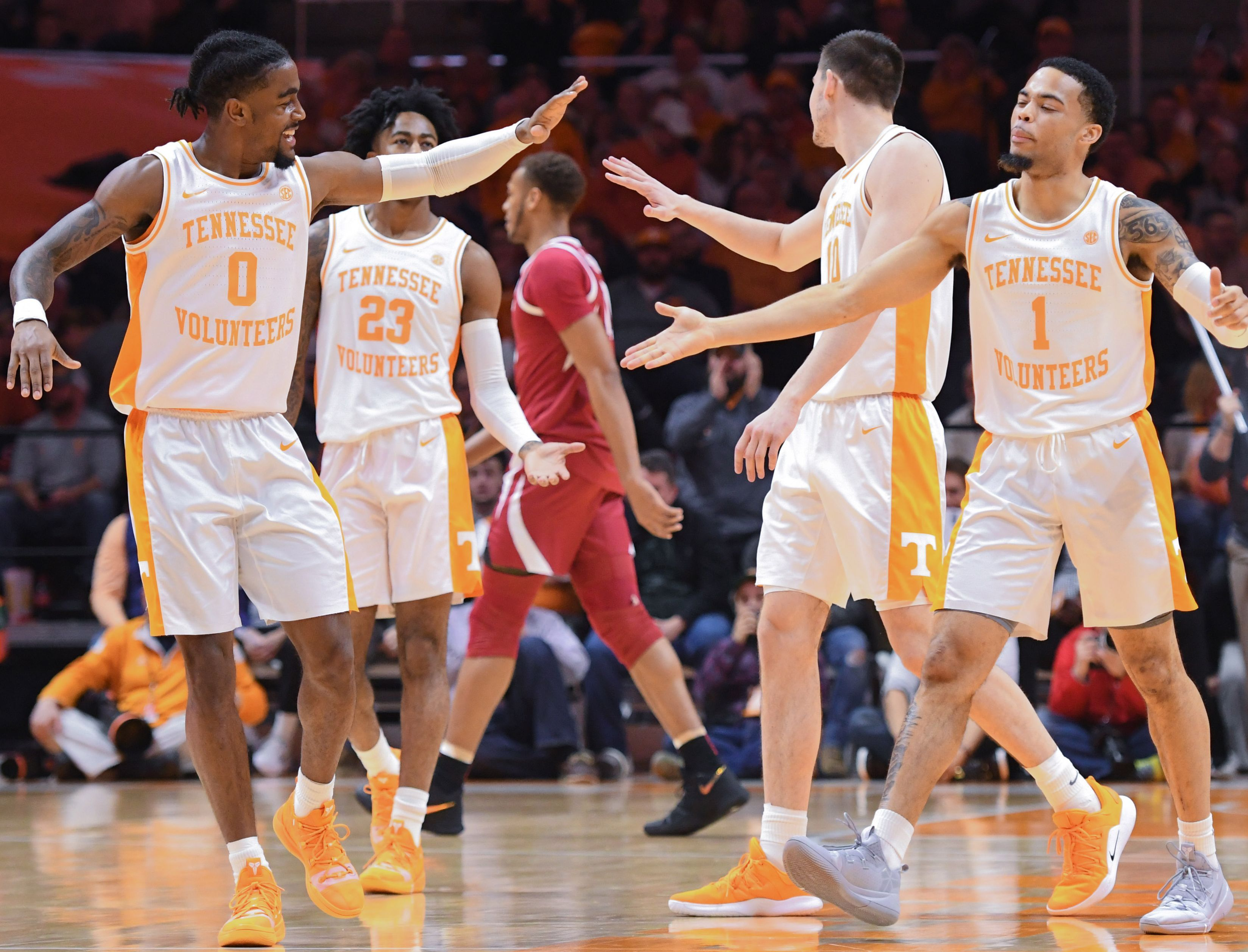 Tennessee moves into No. 1 spot in the USA TODAY Sports