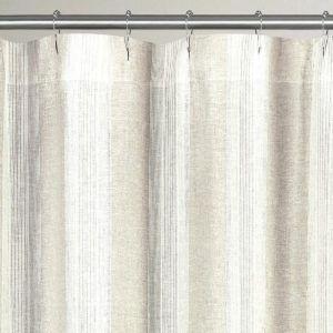 Organic Hemp Shower Curtain Liner