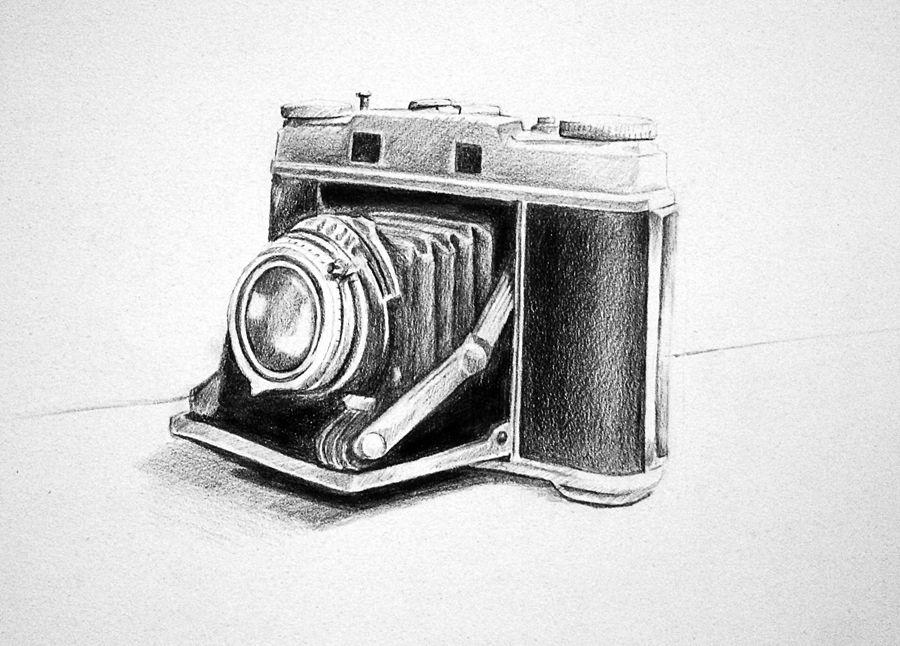 old camera drawing Google Search (With images) Camera