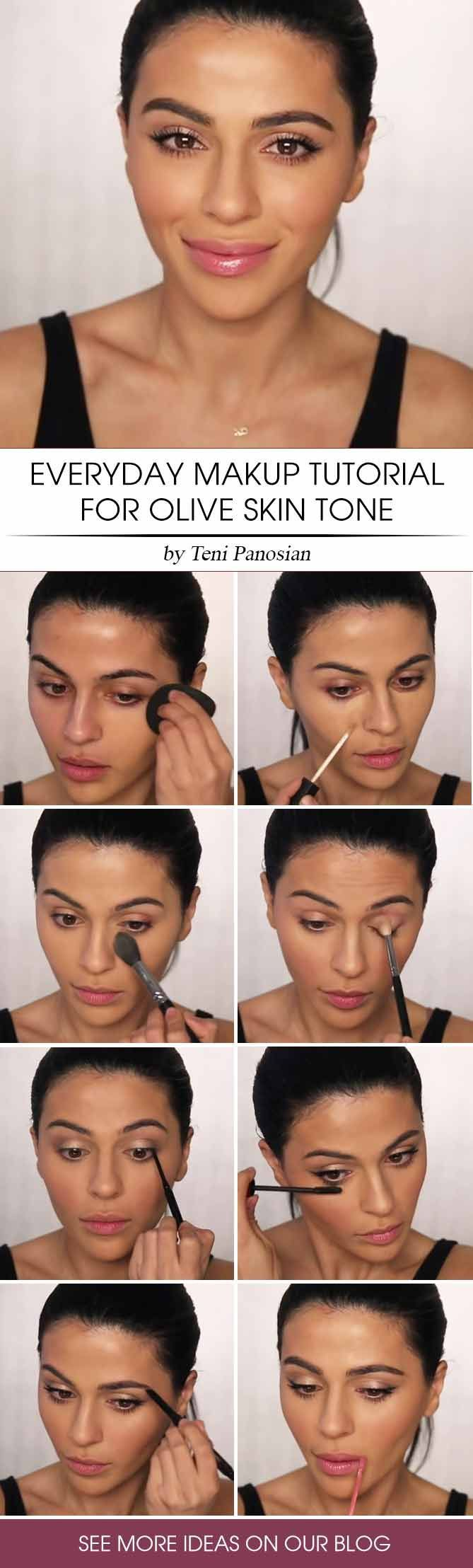 Olive Skin Tone Which Makeup Shades To Look For Glaminati Com Skin Tone Makeup Olive Skin Tone Olive Skin Makeup