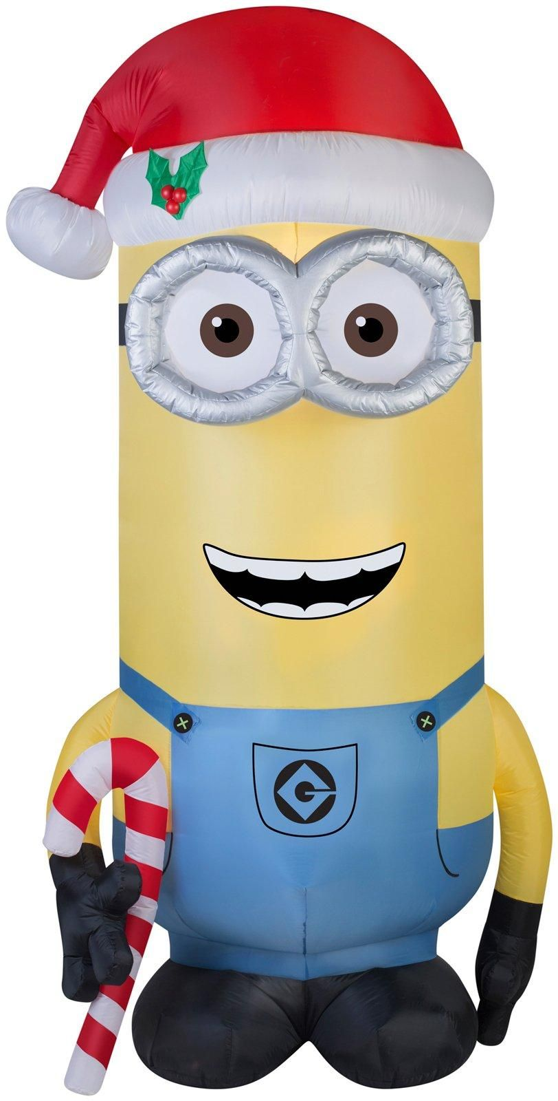 minions christmas kevin 8 foot outdoor airblown from buycostumescom