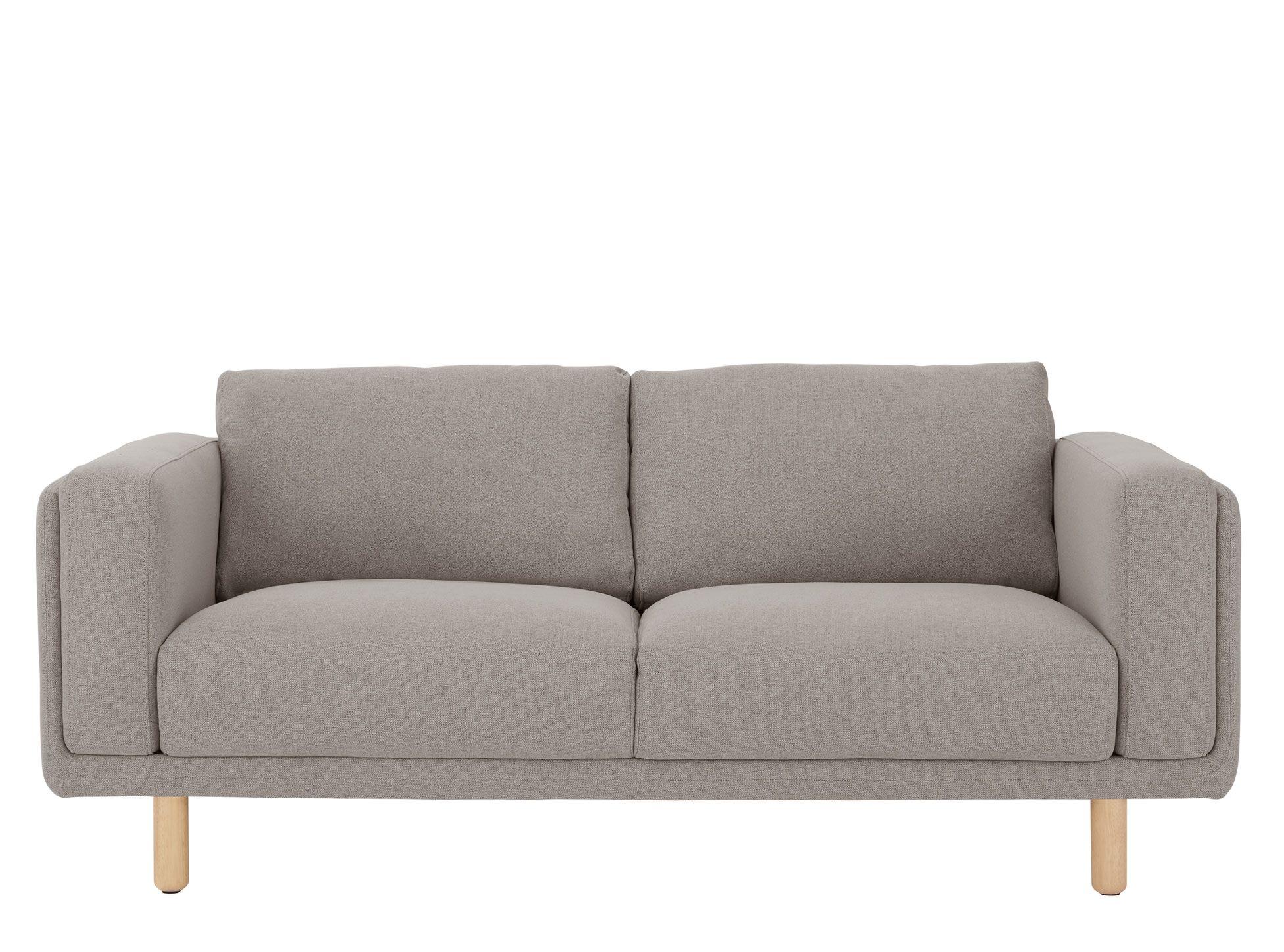 Karson Canape 2 Places Gris Tendre 2 Seater Sofa Sofa Love Seat