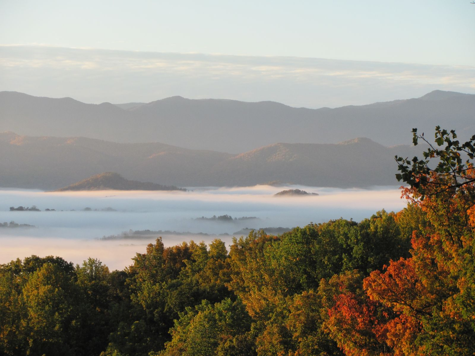 Great Smokey Mountains in Newport Tn Christopher place