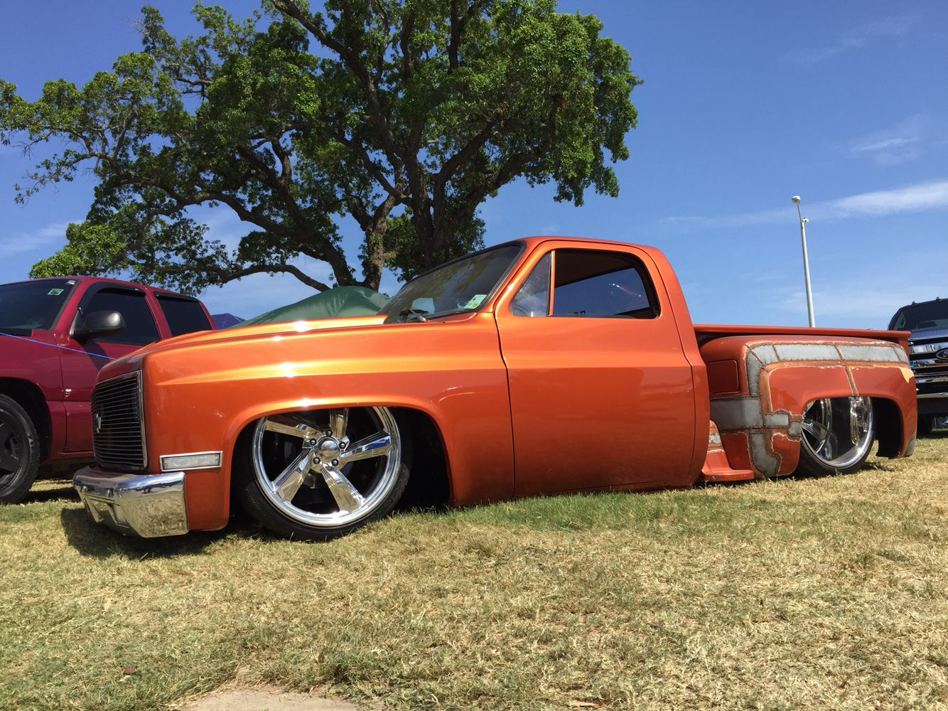 Chopped top c10, with raised step side | Truck - Chevy Post 1955 ...