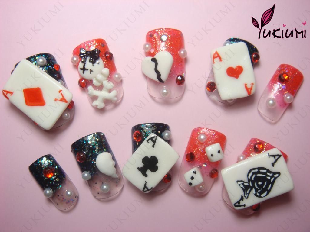 Kawaii nail art this would be awesome if you were goin to hipster nail art prinsesfo Images