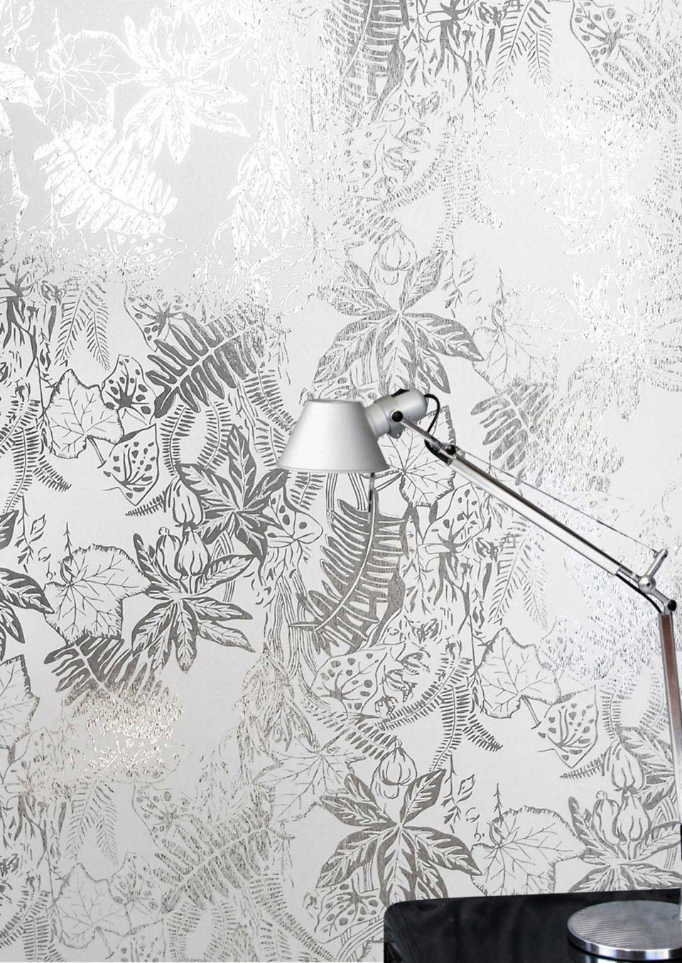 Create a luscious backdrop with hothouse wallpaper by erica wakerly