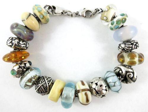 Trollbeads Design Challenge:  Day 18's bracelet by Tartooful