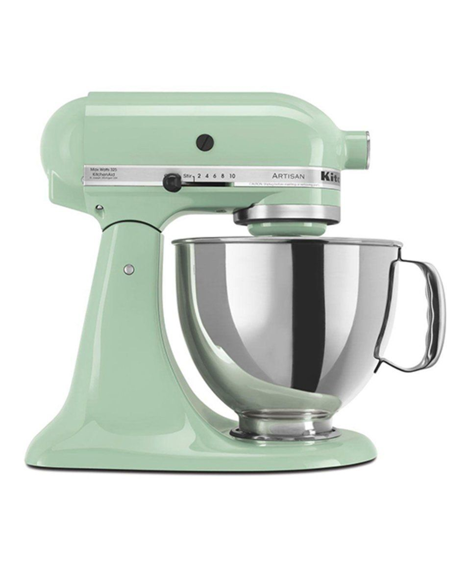 take a look at this kitchenaid pistachio 5 qt artisan series rh pinterest com