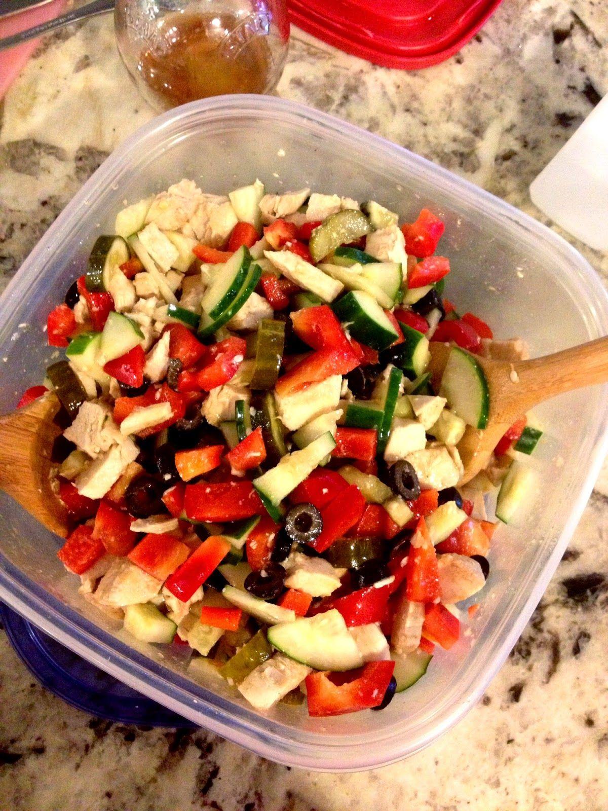 Greek Chicken Salad Current Favorite Recipe Greek Chicken Salad Advocare Recipes Favorite Recipes