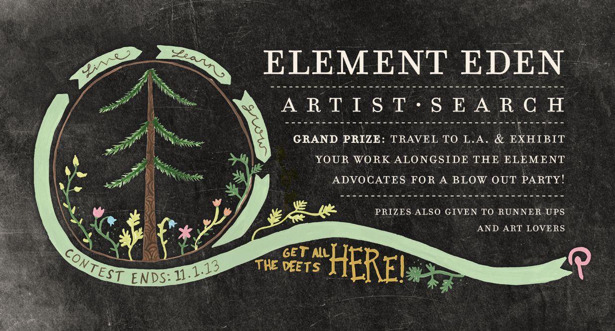 THE GLOBAL ELEMENT EDEN ARTIST SEARCH!! DETAILS: http://elementeden.com/artist-search FOLLOW ALONG: #ElementEdenArtSearch