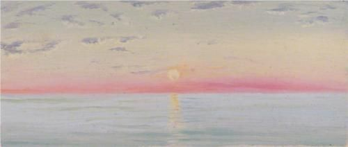 Red Sea - Marianne North