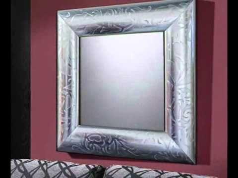 espejos de madera novedades en espejos de pared decorativos