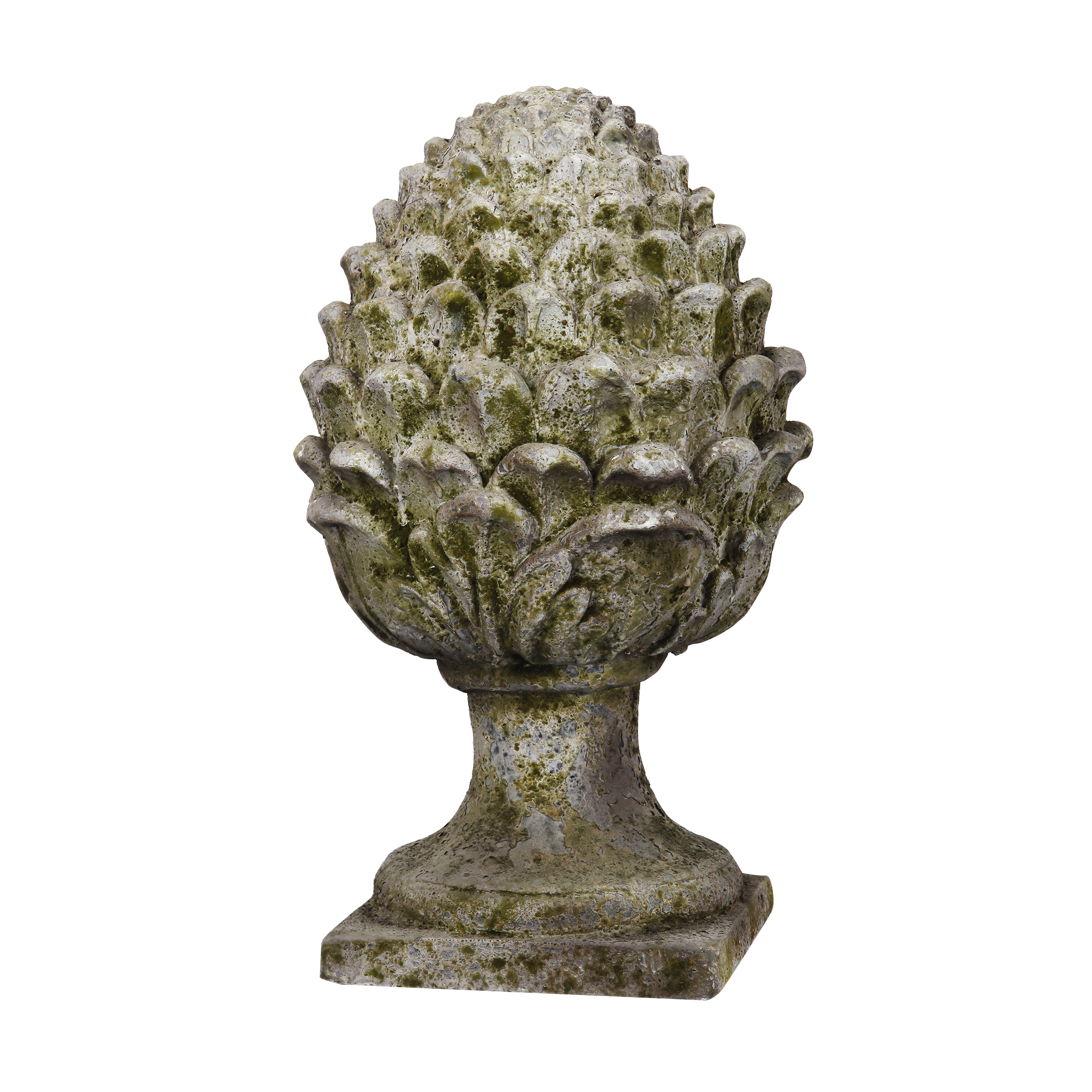 Indoor Ornament Stone Pineapple Finials Decorative Stone Home Decor