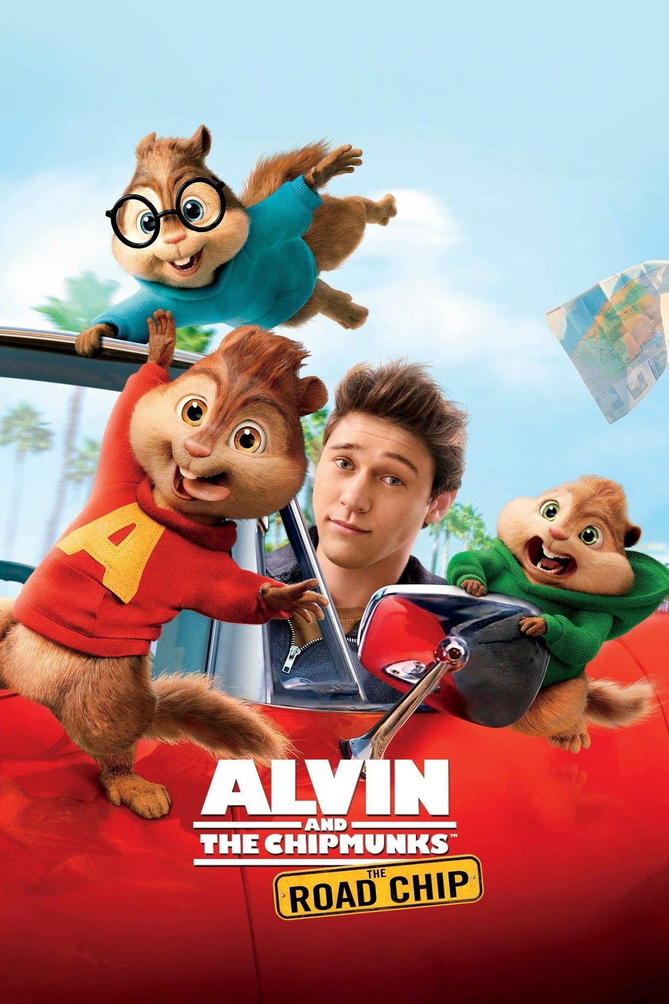 Alvin and the Chipmunks: The Road Chip (2015) - Watch Movies Free Online